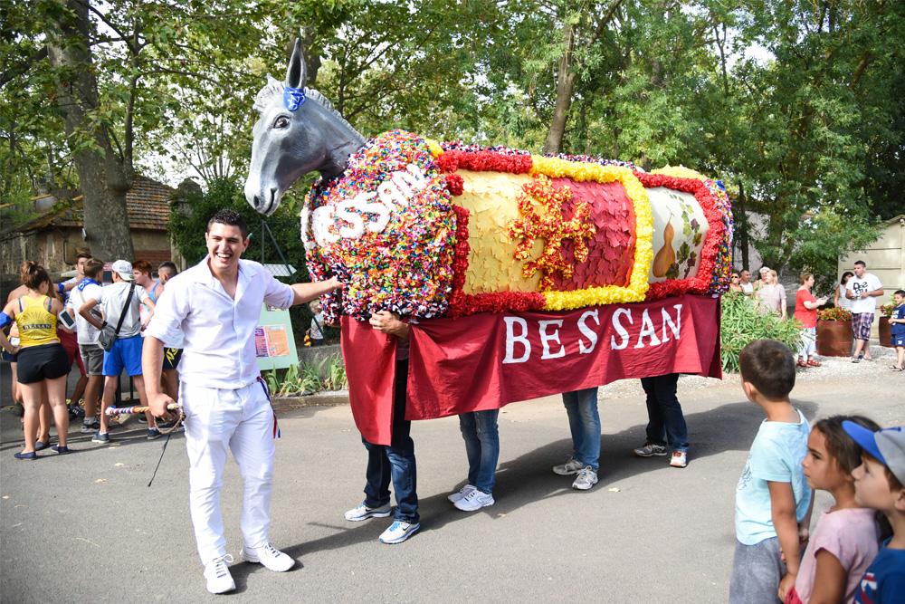 Fête de l'âne à Bessan